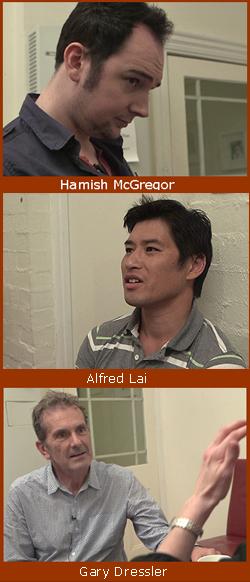 Alfred Lai, Gary Dressler, Hamish McGregor