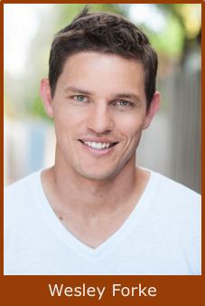 Actor Wesley Forke